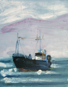 Cross Wind Trawler