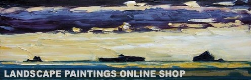 Rod Coyne - buy original landscape paintings online