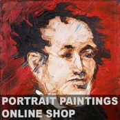 Rod Coyne - 'Thomas Moores' buy original portrait painting online